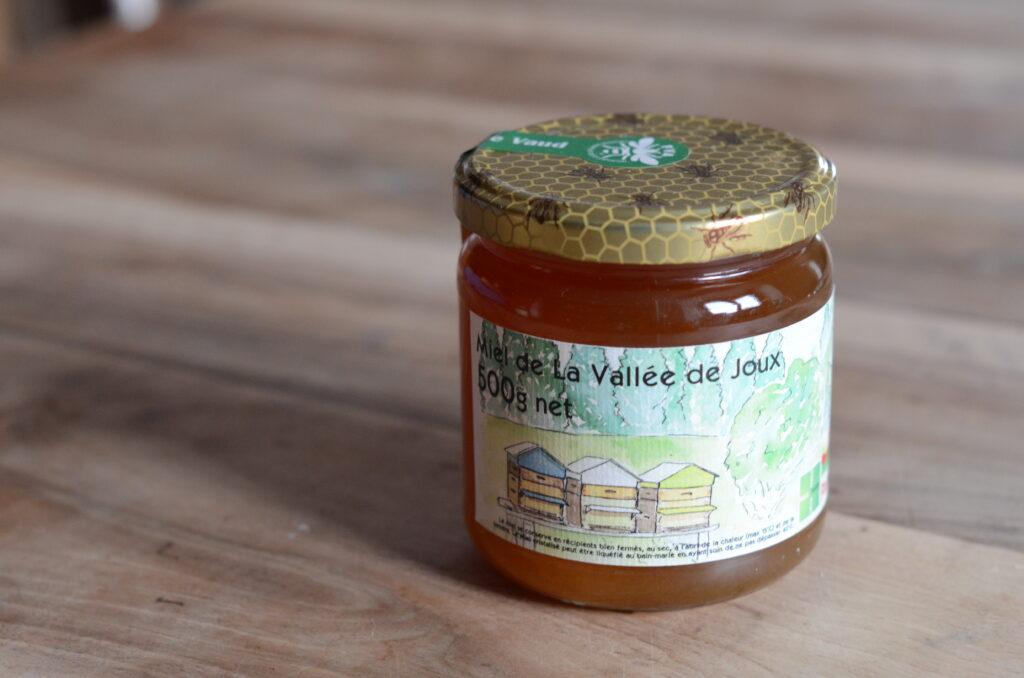 500g Miel de La Vallée de Joux